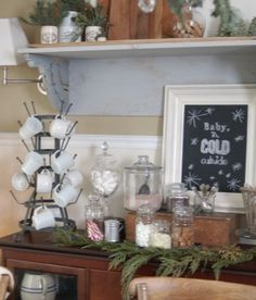 Dining room Christmas Inspiration from Unexpected Elegance