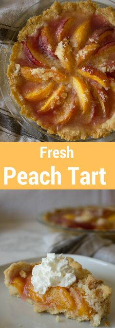 BEST fresh peach tart in the history of the universe. I could seriously eat the entire thing by myself.BEST fresh peach tart in the history of the universe. I could seriously eat the entire thing by myself.