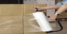 Moving Tip: Buy a roll of stretch wrap. You can group items together, and it'll protect your furniture from getting scuffed and scratched. Moving Day, Moving Tips, Moving Hacks, Organizing For A Move, Stretch Film, Packing To Move, Packing Tips, Moving Boxes, Shopping