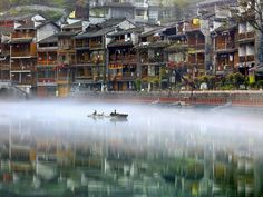 """Water Town"" by Thierry Bornier (https://500px.com/photo/103725631/water-town-by-thierry-bornier)"
