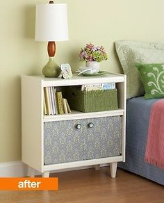 upcycle the old tv stand!