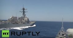 #Russia: U.S. Destroyer Came 'Dangerously Close' to Russian Warship – See the Video