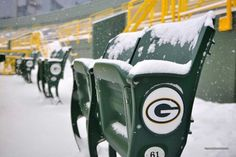 Snow and lambeau just go together