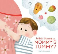 Is it a baby or a watermelon? A charming board book perfect for any curious toddler welcoming a new sibling