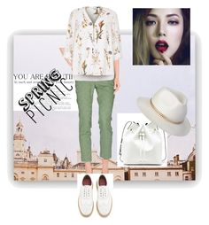 """""""Casual Spring Wear"""" by mrsdivineright on Polyvore featuring Peserico Sign, Grenson, River Island and Sole Society"""