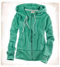Teal French Terry Hoodie :)
