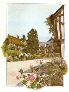 "St Mary Mead, the fictional town of Agatha Christie's Miss Marple: ""There is a great deal of wickedness in village life."" Miss Marple"
