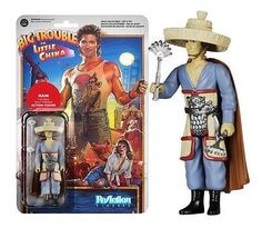 From the 1986 cult classic movie, Big Trouble in Little China comes this Rain ReAction figure. Relive the epic adventure of bumbling trucker Jack Burton as he found himself in the middle of the mysterious underworld of San Francisco's Chinatown! As 1/3 of the elemental trio - The Storms - and part of Lo Pan's loyal henchmen, Rain is highly articulated and is ready to battle!