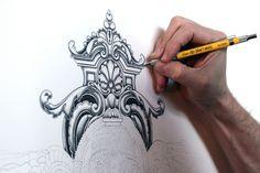 Joe Fenton Pencil Illustration