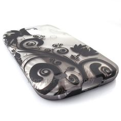 The silver flowers hard case snap on cover for the Samsung Galaxy S2 Hercules T-Mobile is a great stylish cover case made with Grade A Abs plastic. It protects your phone from scratches and scuffs and is very affordable. Also there are many other designs available. Order today and we will ship the same business day!