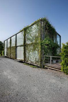 Jehanster-Verviers, Belgium Denis-Ortmans House Dethier Architecture