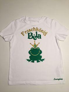 Geburtstag T-Shirt  Froschkönig Frog Prince Luxurypimp
