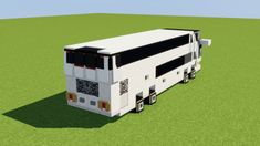 Marcopolo Paradiso Bus Minecraft Project - Minecraft World Minecraft Mods, Project Minecraft, Minecraft Villa, Minecraft Modern City, Minecraft World, Minecraft Building Blueprints, Minecraft City Buildings, Minecraft Mansion, Cute Minecraft Houses