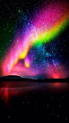 Experiencing the all-natural sensation of aurora borealis– aka Northern Lights– belongs on every vacationer's pail list. Aurora Borealis, Beautiful Sky, Beautiful Landscapes, Cosmos, Natural Phenomena, Science And Nature, Amazing Nature, Night Skies, Belle Photo