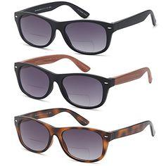 a800300b6986 GAMMA RAY 3 Pairs Bifocal Gradient Sunglasses Readers Reading Glasses -  1.50x