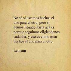 #Leunam #Frases #Amor