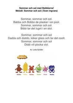 sångtexter födelsedag 29 best Babblarna (sånger och ramsor) images on Pinterest | Amy  sångtexter födelsedag