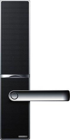 Products we like / Handle / Door / Pattern / Black / Carbon Fibre / at SamirSadikhov.com