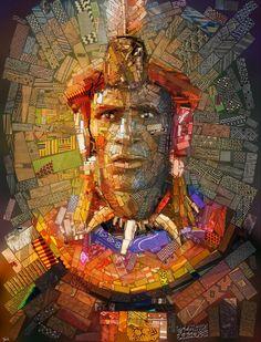 Shaka Zulu, Warrior