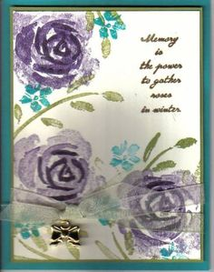CC66 Roses for Emily by justampin - Cards and Paper Crafts at Splitcoaststampers