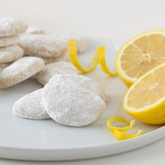 Fresh, vibrant lemon is the perfect way to offset all the sugar in these delicately dusted shortbread cookies.