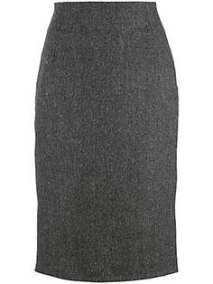 Peter Hahn - Tweed-Rock in gerader Form (Größe 36 - 52)