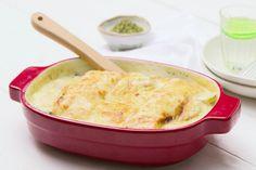 Boordevol vitaminen: deze zalmovenschotel met groente en kaas