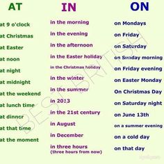 #prepositions #learnenglish #esol http://www.uniquelanguages.com