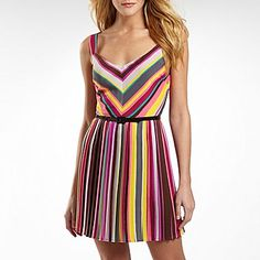 As You Wish® Striped Dress - jcpenney  I bought this yesterday and it was cheaper in the store!