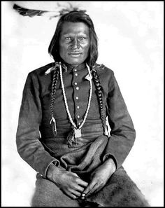 Omaha man, Du-ba-mon-thin or Four Walker, called Harrison McCauley. No date for Photo.