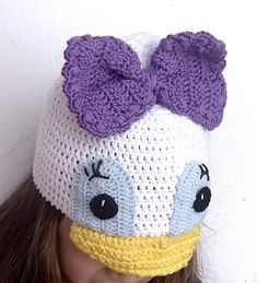 Beauty Crochet Pattern: DAISY CROCHET HAT PATTERN