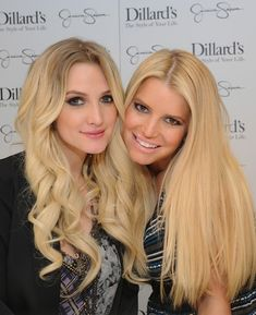Jessica & Ashlee Simpson: Jessica Simpson Collection Event with the Family!: Photo Jessica Simpson poses for a picture with her family including fiance Eric Johnson and kids Maxwell, 18 months, and Ace, 4 months, at the Jessica Simpson Collection… Eric Johnson, Ashlee Simpson, Jessica Simpson Sister, Famous Celebrities, Celebs, Famous Sisters, Jessica Simpson Collection, Jessica Ann, Gorgeous Hair