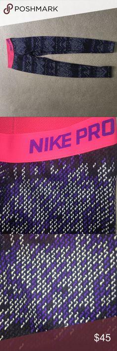 Nike pro leggings Warm Aztec print Nike Pro leggings Nike Pants Leggings