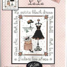 """Jolie grille sue hillis designs"""" la robe noire"""""""