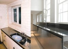 Kitchen Transformation- Before and After Transformation Images, John Evans, Interior Architecture, Interior Design, Kitchen, Home Decor, Architecture Interior Design, Nest Design, Cooking