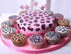 zebra and cheetah cakes   Recent Photos The Commons Getty Collection Galleries World Map App ...