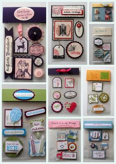 Card Candy @ DIY Home Cuteness