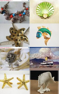 Oh to be beside the seaside...GVS Team by Ruth on Etsy--Pinned with TreasuryPin.com