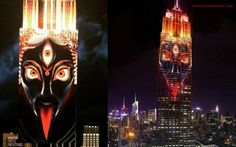 Kali on Empire State Building