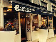 Shopping in Lisbon Chocolataria Equador Store in Rua da Misericórdia, 72 Chiado- Lisbon