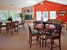 Hathaway Court Apartments Clubhouse Gathering Room