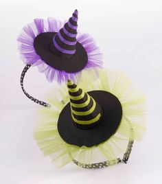 Witch Hat Headband from The Couture Baby