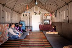 Ikea's Newly Designed Refugee Shelters Are a Game Changer The units are spacious, have solar panels, and can last an average of three years.