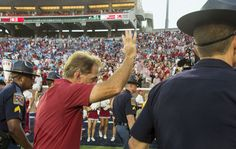 Saban cracked a smile after Alabama's 'wild and woolly' Ole Miss win