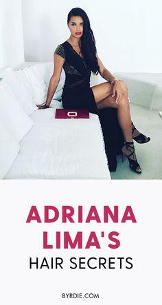 How to get hair like Adriana Lima