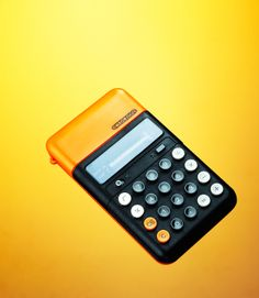 Omron Calculator - my dad had one of these and I always loved the minimalist style, before I knew what minimalist was.