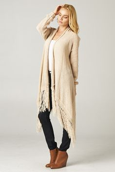 Kelly Sweater in Warm Ivory on Emma Stine Limited