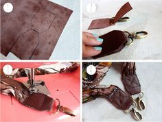 How to make a scarf camera strap!