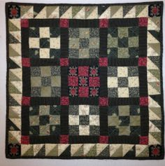 Jo Morton Design - Jo Little Women club 2  - Nine Patch Doll Quilt