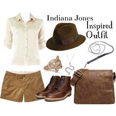 """""""Indiana Jones"""" by geekgirl4ever on Polyvore"""